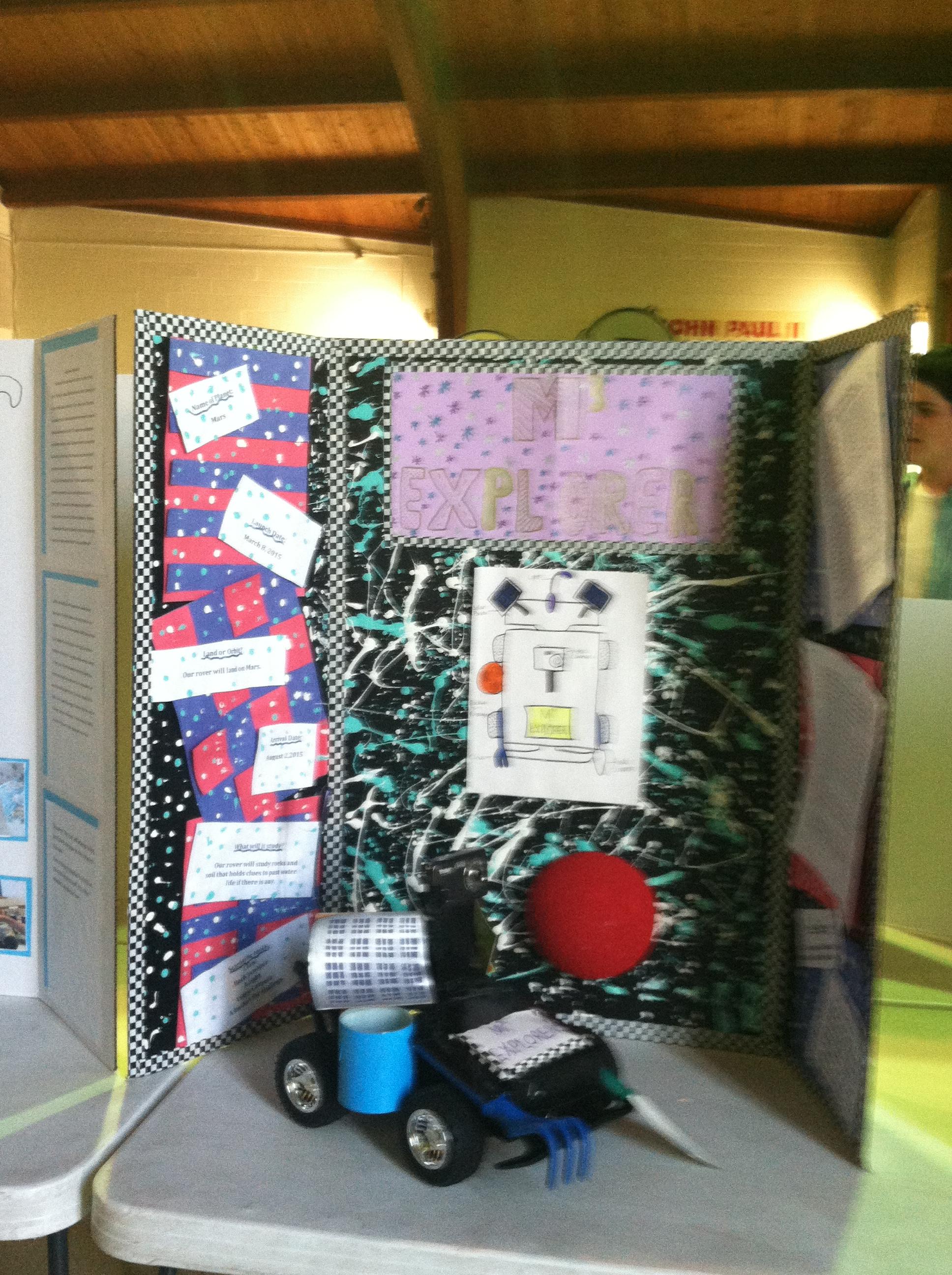 Science Fair Projects – St  John Paul II Regional School