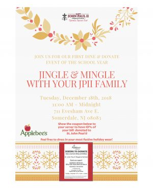 Dine and Donate Today at Applebee's