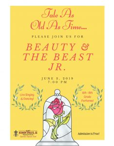 Spring Production-Beauty and the Beast Jr.